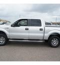 ford f 150 2011 silver xlt gasoline v8 4 wheel drive automatic 78539