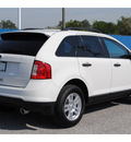 ford edge 2012 white suv se gasoline 6 cylinders front wheel drive automatic 77532