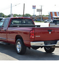 dodge ram pickup 2500 2007 dk  red pickup truck lone star ed  diesel 6 cylinders rear wheel drive automatic 76801