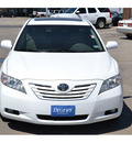 toyota camry 2009 white sedan xle gasoline 4 cylinders front wheel drive automatic 76801