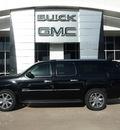 gmc yukon xl 2012 black suv denali flex fuel 8 cylinders 2 wheel drive automatic 75007