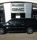 gmc yukon xl 2012 black suv denali flex fuel 8 cylinders all whee drive automatic 75007