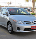 toyota corolla 2011 silver sedan le gasoline 4 cylinders front wheel drive automatic with overdrive 77074