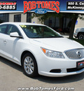 buick lacrosse 2010 white sedan cx gasoline 6 cylinders front wheel drive 6 speed automatic 75070