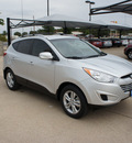 hyundai tucson 2012 silver suv gls gasoline 4 cylinders front wheel drive 6 speed automatic 76049