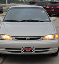 toyota corolla 2000 silver sedan le gasoline 4 cylinders front wheel drive automatic with overdrive 77469