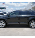 ford edge 2013 black sel gasoline 6 cylinders front wheel drive automatic 77074
