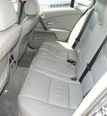 bmw 5 series 2004 silver sedan 525i gasoline 6 cylinders rear wheel drive automatic 76108