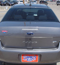 ford focus 2009 grey sedan sel gasoline 4 cylinders front wheel drive automatic 79936