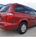 dodge grand caravan 2007 red van se gasoline 6 cylinders front wheel drive automatic 77087