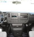gmc savana 2500 2012 white van 2500 flex fuel 8 cylinders rear wheel drive 6 speed automatic 76206