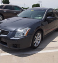 nissan maxima 2007 gray sedan 3 5 se gasoline 6 cylinders front wheel drive automatic 75087