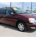 ford freestar 2006 dk  red van sel gasoline 6 cylinders front wheel drive automatic 77020
