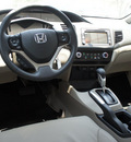 honda civic 2012 gray sedan ex l w navi gasoline 4 cylinders front wheel drive automatic 75034