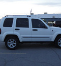 jeep liberty 2006 white suv limited gasoline 6 cylinders rear wheel drive automatic 79936
