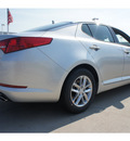 kia optima 2012 silver sedan lx gasoline 4 cylinders front wheel drive automatic 77034