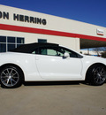 mitsubishi eclipse spyder 2012 white gs sport gasoline 4 cylinders front wheel drive shiftable automatic 75062