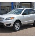 hyundai santa fe 2012 silver suv gls gasoline 6 cylinders front wheel drive automatic 78041