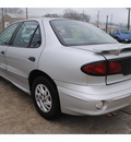 pontiac sunfire 2002 silver sedan se gasoline 4 cylinders front wheel drive automatic with overdrive 77531