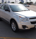 chevrolet equinox 2012 silver ls flex fuel 4 cylinders front wheel drive 6 speed automatic 78224