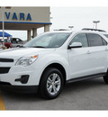 chevrolet equinox 2012 white lt flex fuel 4 cylinders front wheel drive 6 speed automatic 78224