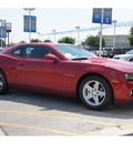 chevrolet camaro 2012 red coupe lt gasoline 6 cylinders rear wheel drive 6 speed automatic 78224