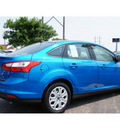 ford focus 2012 blue sedan se flex fuel 4 cylinders front wheel drive automatic 79407