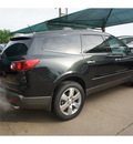 chevrolet traverse 2012 black gran ltz gasoline 6 cylinders front wheel drive not specified 76051