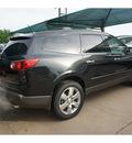 chevrolet traverse 2012 black gran ltz gasoline 6 cylinders front wheel drive not specified 76051