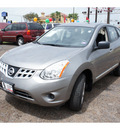 nissan rogue 2011 lt  gray gasoline 4 cylinders front wheel drive automatic 78520
