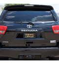 toyota sequoia 2010 black suv sr5 gasoline 8 cylinders 2 wheel drive automatic 77074