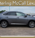 lexus rx 350 2013 gray suv gasoline 6 cylinders front wheel drive automatic 77074