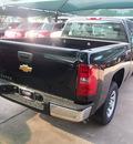 chevrolet silverado 1500 2012 black pickup truck work truck gasoline 6 cylinders 2 wheel drive automatic 76051