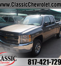 chevrolet silverado 1500 2012 graystone pickup truck ls flex fuel 8 cylinders 2 wheel drive automatic 76051