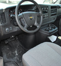 chevrolet express cutaway 2012 white van 3500 flex fuel 8 cylinders rear wheel drive automatic 76051