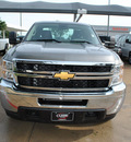 chevrolet silverado 2500hd 2012 gray work truck gasoline 8 cylinders 4 wheel drive automatic 76051