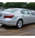lexus ls 460 2012 silver sedan l gasoline 8 cylinders rear wheel drive automatic 77074