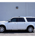 lincoln navigator l 2012 white suv flex fuel 8 cylinders 4 wheel drive automatic 79407