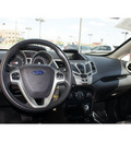 ford fiesta 2011 silver sedan sel gasoline 4 cylinders front wheel drive automatic 79407