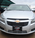 chevrolet cruze 2012 silver sedan eco gasoline 4 cylinders front wheel drive not specified 76051
