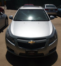 chevrolet cruze 2012 silver ice sedan lt gasoline 4 cylinders front wheel drive not specified 76051