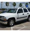 chevrolet tahoe 2002 white suv ls flex fuel 8 cylinders rear wheel drive automatic 77566