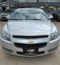 chevrolet malibu 2012 silver sedan lt gasoline 4 cylinders front wheel drive not specified 76051