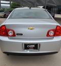 chevrolet malibu 2012 silver sedan lt gasoline 4 cylinders front wheel drive not specified 76051