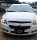 chevrolet malibu 2012 white sedan lt gasoline 4 cylinders front wheel drive not specified 76051
