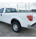 ford f 150 2012 white xl flex fuel 8 cylinders 2 wheel drive 6 speed automatic 77539