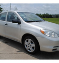 toyota matrix 2003 silver hatchback gasoline 4 cylinders front wheel drive automatic with overdrive 77539