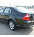 ford fusion 2012 black sedan s gasoline 4 cylinders front wheel drive automatic 77539