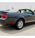 ford mustang 2008 black v6 premium gasoline 6 cylinders rear wheel drive automatic 77034