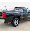 dodge dakota 2005 black pickup truck slt gasoline 6 cylinders rear wheel drive automatic 77034